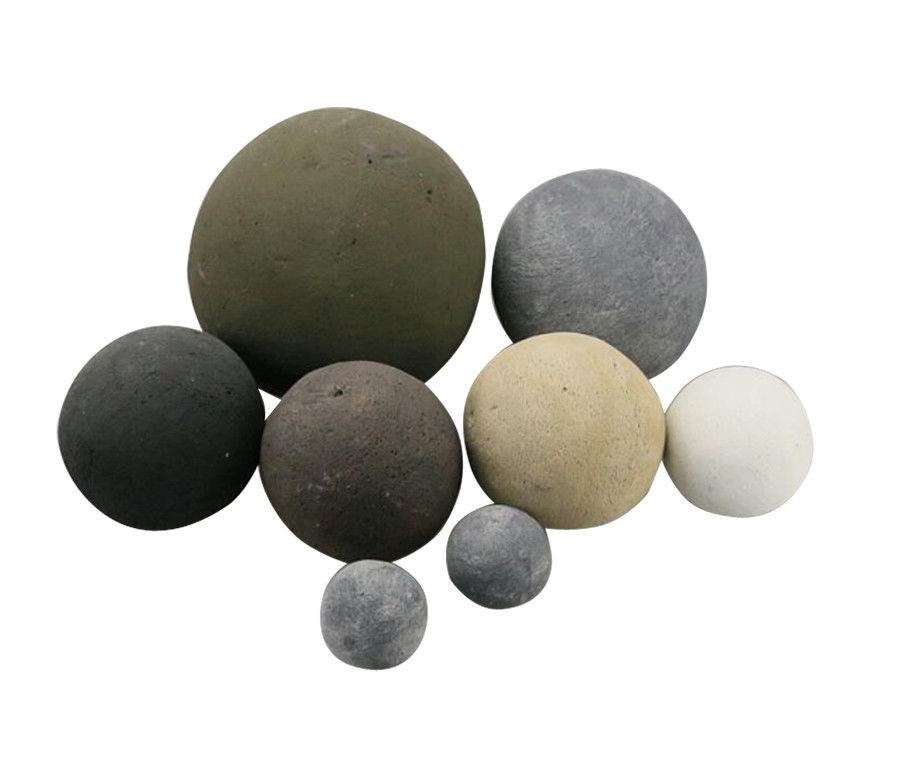 White stones for gas fire optional qtys replacment coals//pebbles// RCF Quality