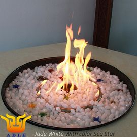 Fire Pit Glass Like Diamond 800℃ Fireplace Accessories Rocks